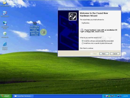 Update CONDOR XC007 2