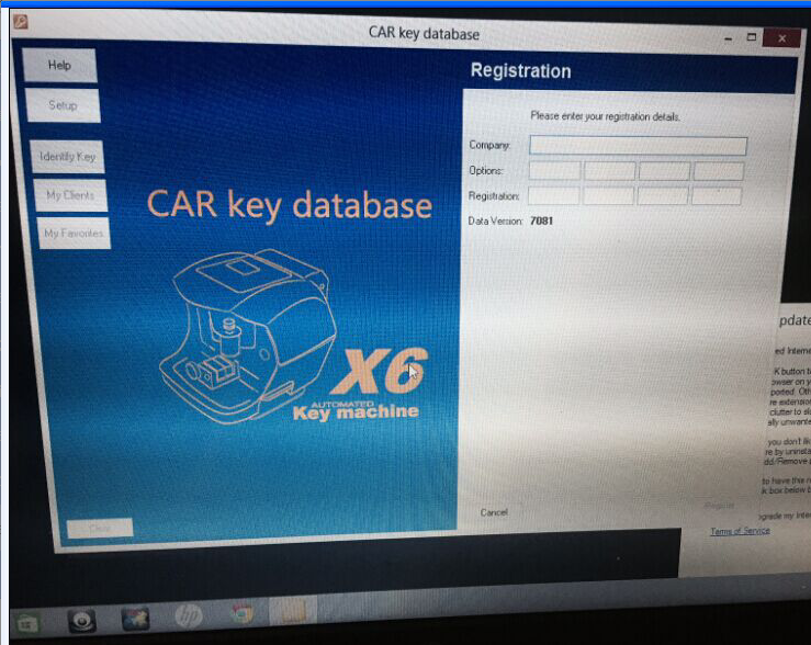 car-key-database-registration