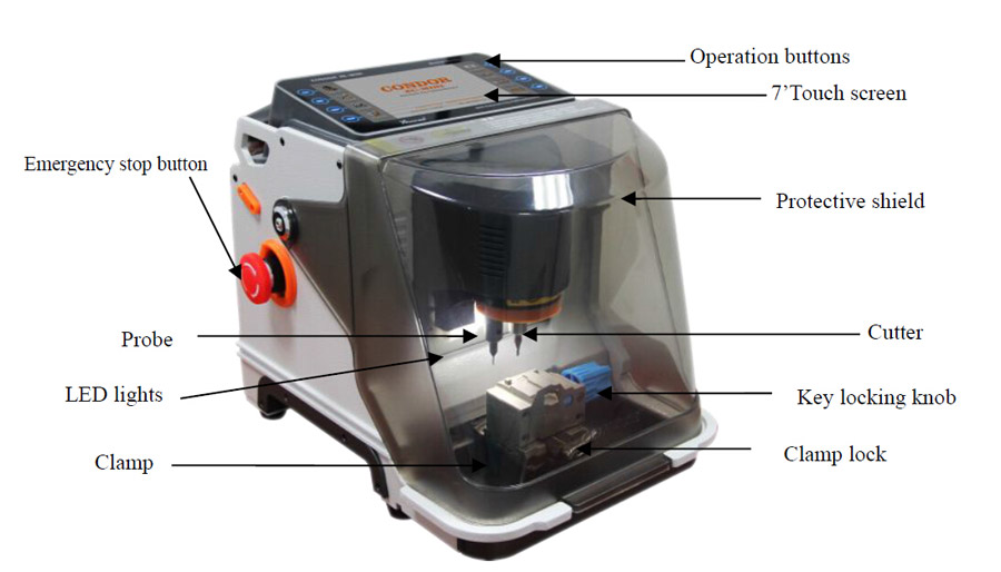 Ikeycutter Xc Mini Key Cutting Machine