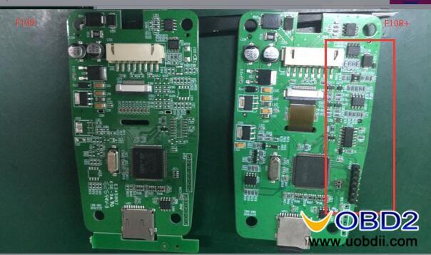 OBDSTAR F108+ PSA pin code reader & key programmer for kline