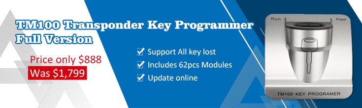 TM100 Transponder Key Programmer
