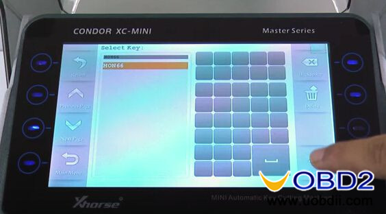 Condor-XC-MINI-Key-cutting-machine-cut-Honda-HON66-key-2