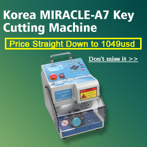 MIRACLE-A7 Key Cutting Machine