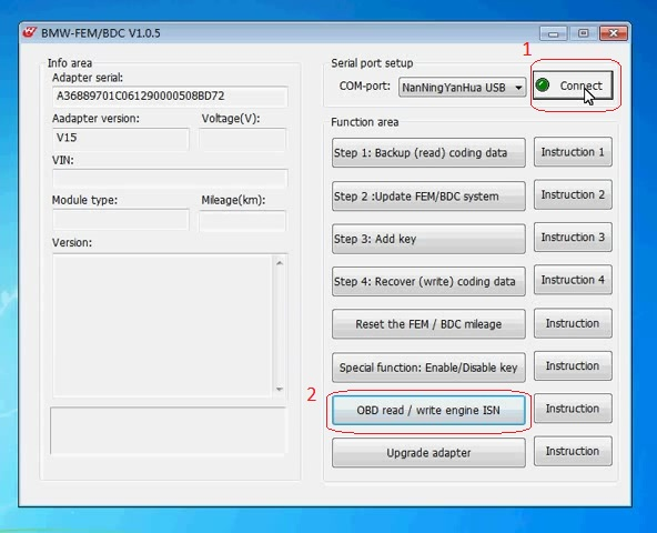 yanhua-bmw-fem-bdc-v1.0.5-read-engine-isn-via-obd-05
