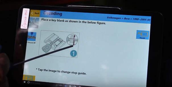 SEC-E9 Cut Volkswagen Bora Keys  (15)