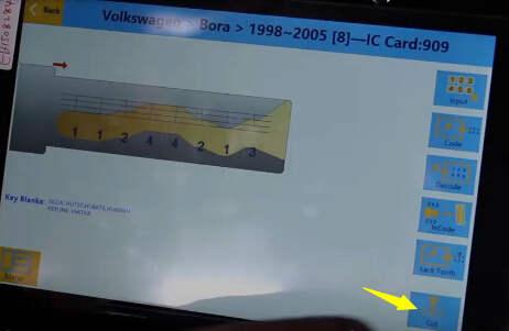 SEC-E9 Cut Volkswagen Bora Keys  (20)