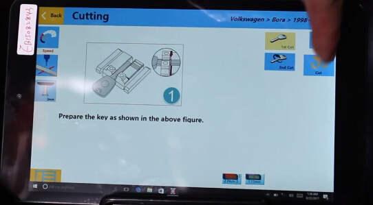 SEC-E9 Cut Volkswagen Bora Keys  (26)