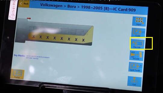 SEC-E9 Cut Volkswagen Bora Keys  (9)