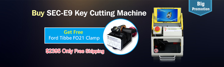 SEC-E9 Key Cutting Machine