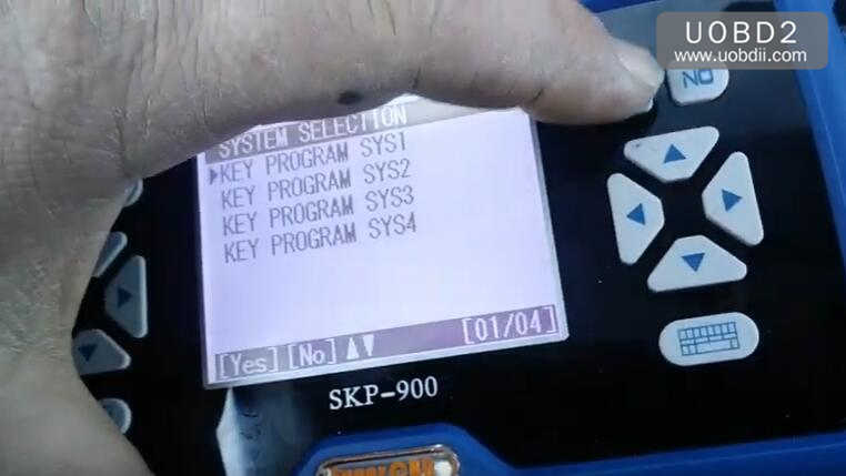 How to Use SKP900 Program Keys for VW (11)