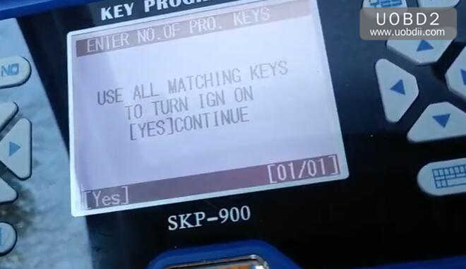 How to Use SKP900 Program Keys for VW (21)