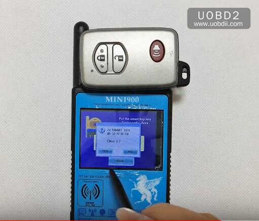 Smart CN900 Mini Clear Toyota Smart Card (4)