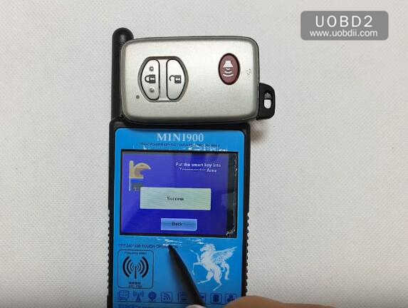 Smart CN900 Mini Clear Toyota Smart Card (9)
