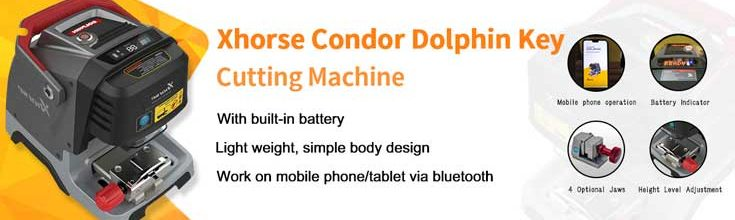 Xhorse Condor Dolphin Key Cutting Machine