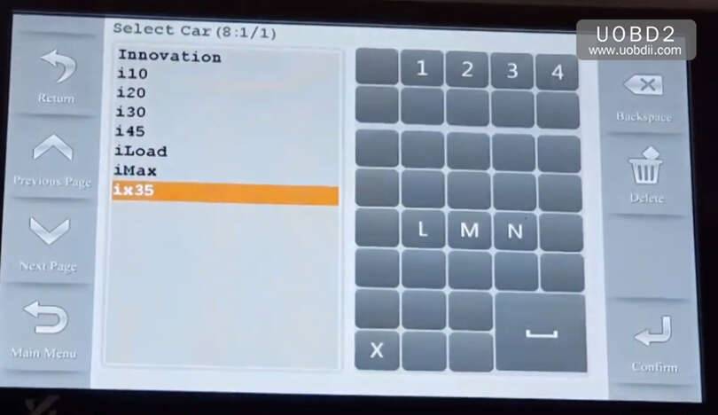How to Use Codor Mini Plus Cut Keys for Huyndai ix35 Grand (3)