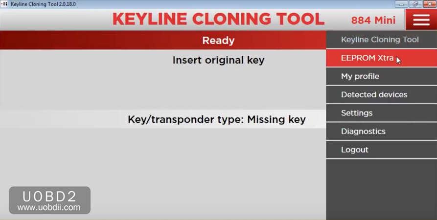 How to Use Keyline 884 to Add New Key for KIA Sorento 2005 (1)