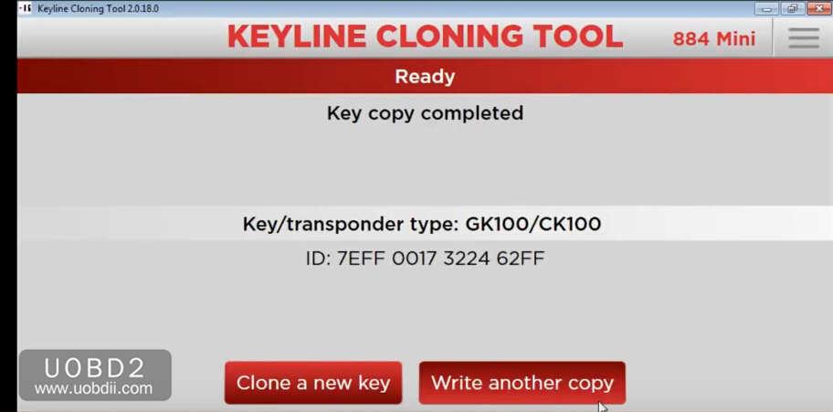 How to Use Keyline 884 to Add New Key for KIA Sorento 2005 (10)
