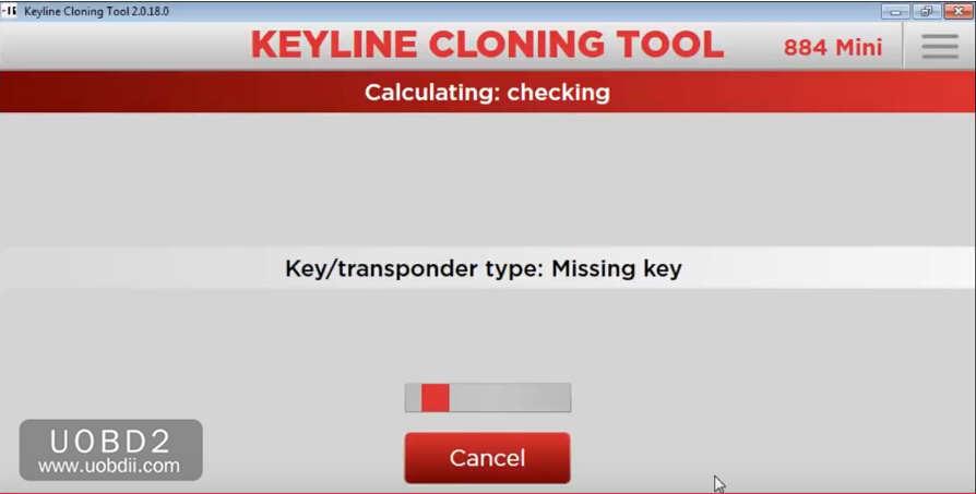 How to Use Keyline 884 to Add New Key for KIA Sorento 2005 (7)