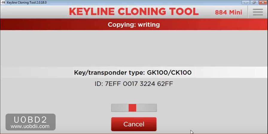How to Use Keyline 884 to Add New Key for KIA Sorento 2005 (9)