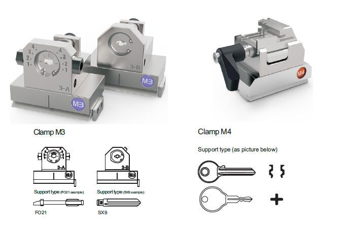 How to Use Condor XC-Mini Plus Key Cutting Machine-5