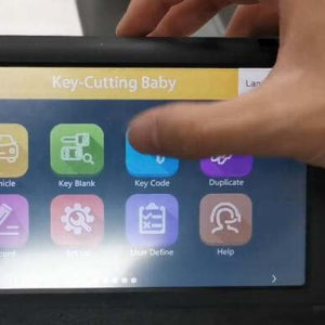 Use JMD Key Baby Key Code Function to Cut Toyota Key (2)