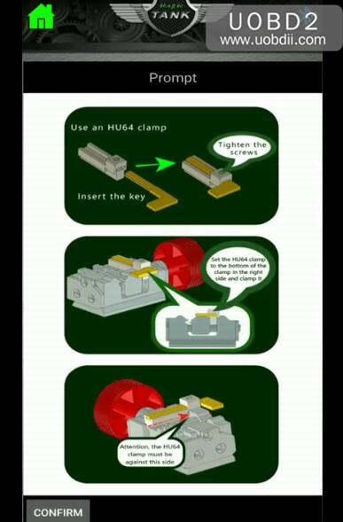 How to Use 2M2 Magic Tank Machine Cut HU64 Key (9)
