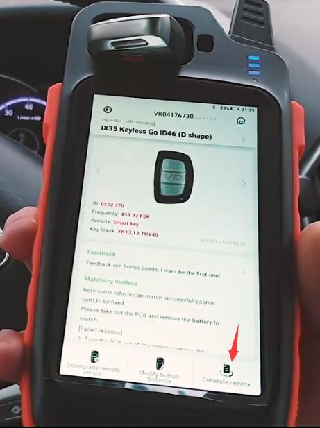 Hyundai-IX35-Smart-Key-Programming-by-VVDI-Key-Tool-Max-K518-2