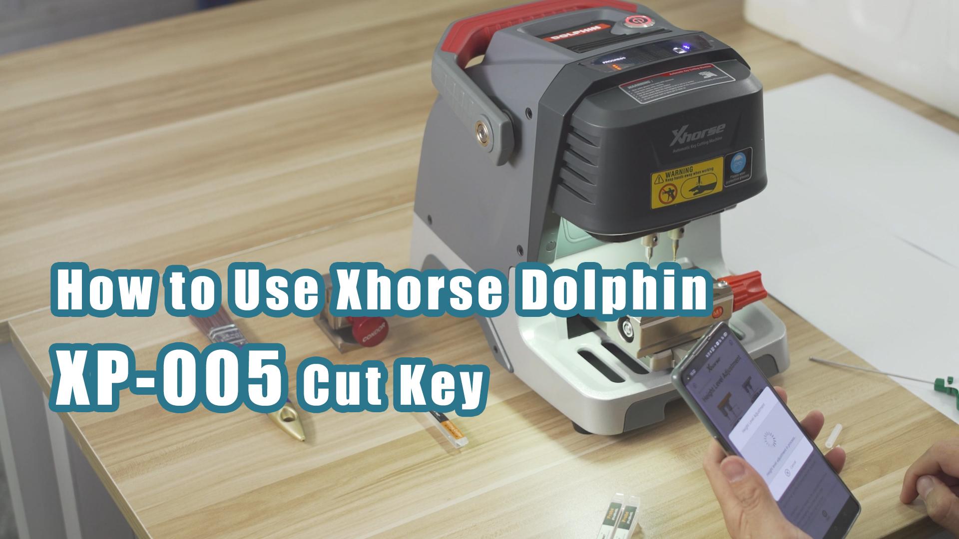 xhorse dolphin xp-005 cut key